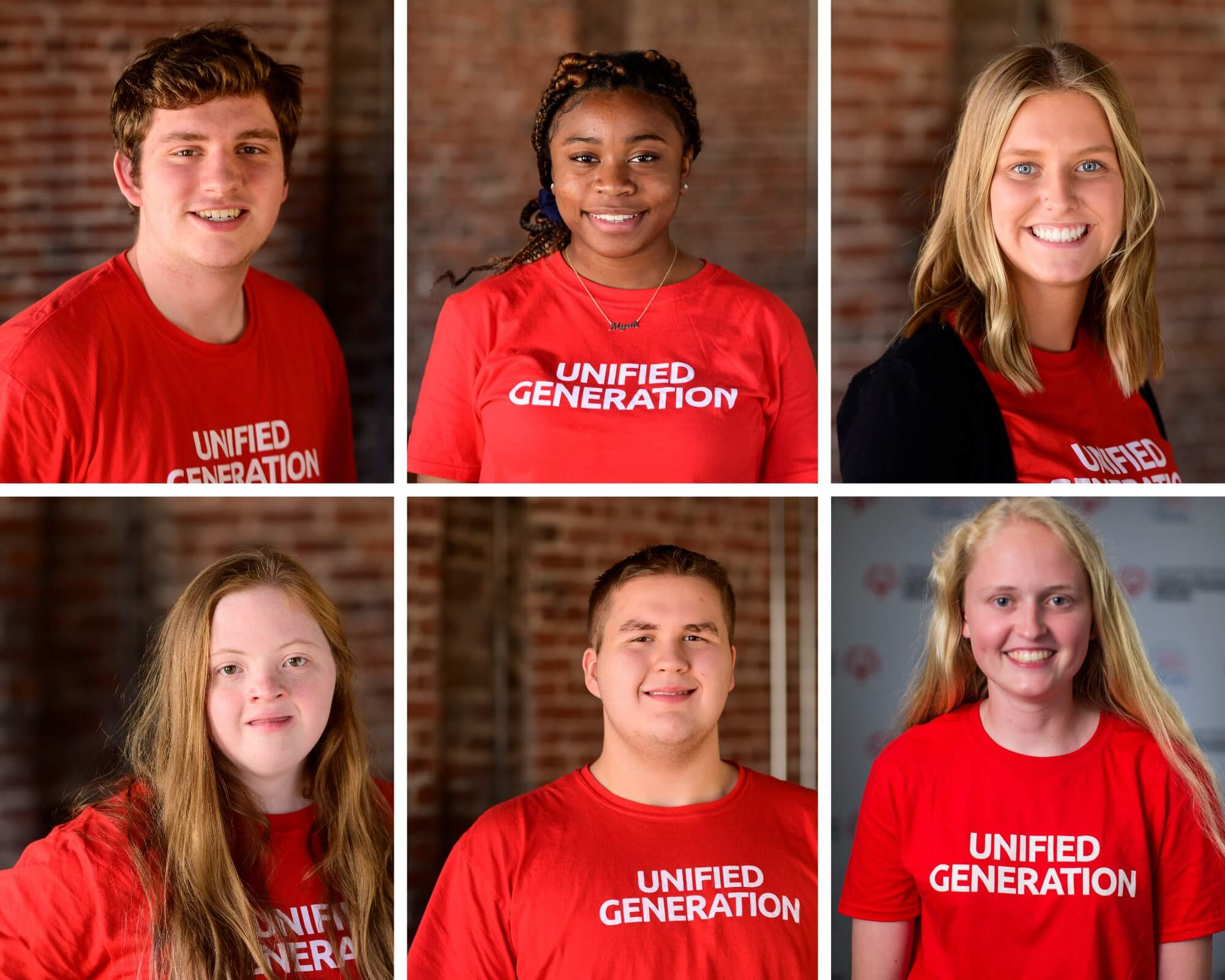 Collage of U.S. Youth Ambassadors who are seniors.
