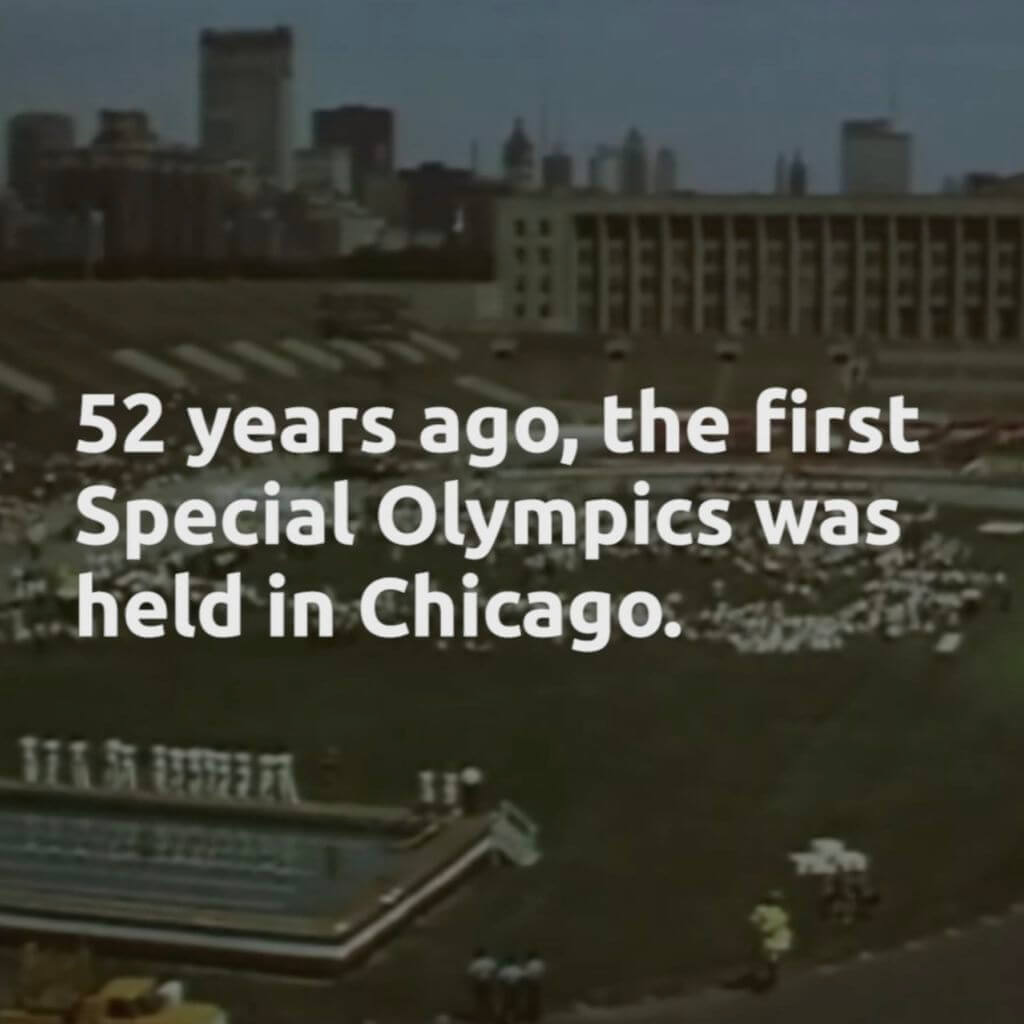 The first Special Olympics was held in Chicago.