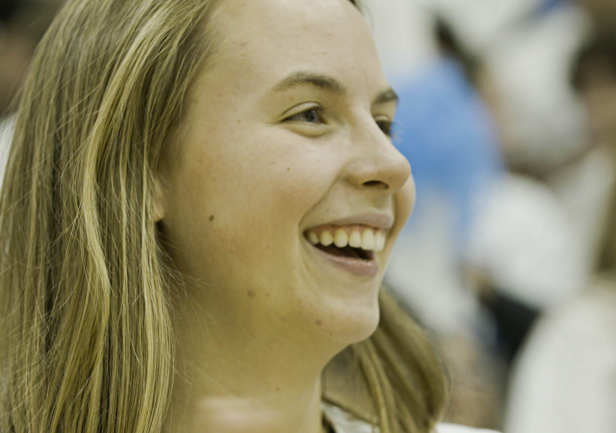 Zoie, a youth leader from Fife High School, WA.