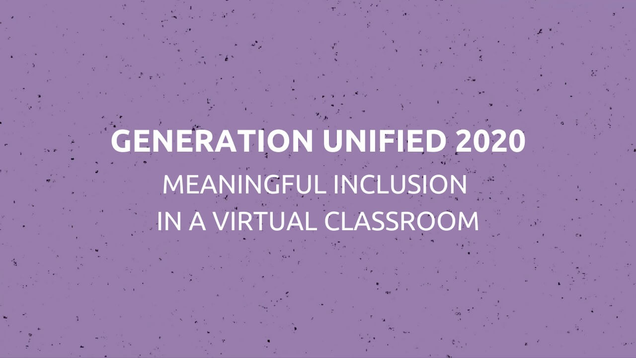 Generation Unified 2020