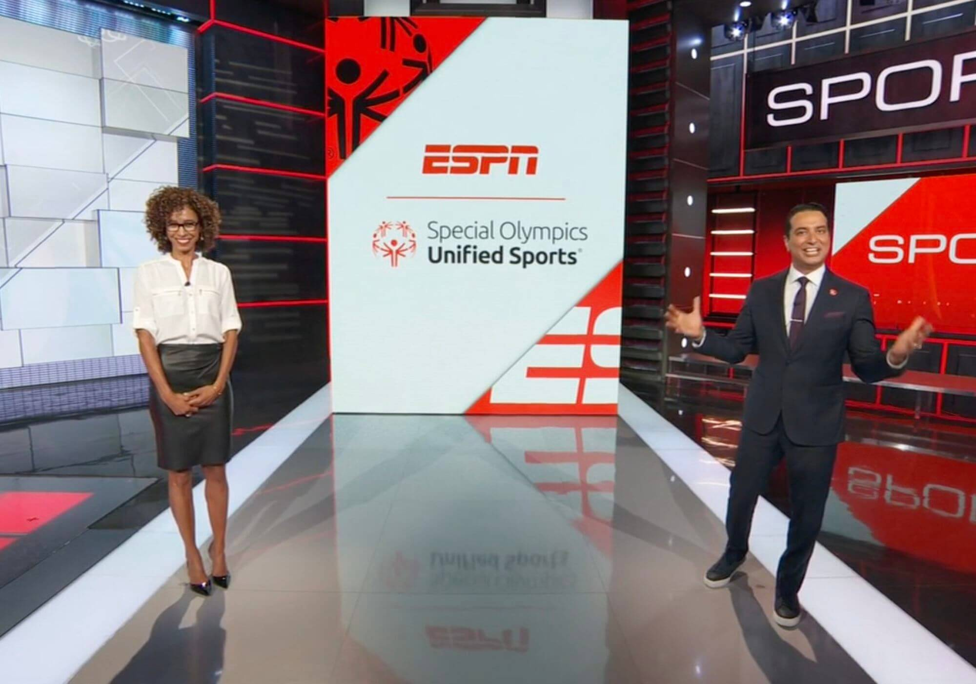 ESPN anchors introduce the 2020 ESPN Top 5 Unified Champion Schools