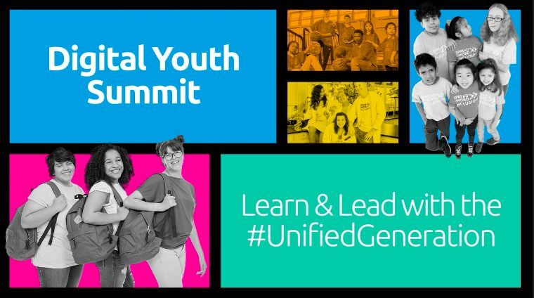 Screenshot of Digital Youth Summit cover photo.